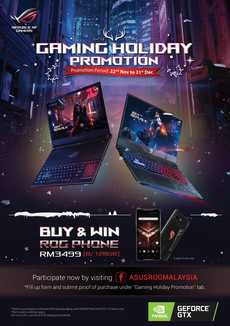 Buy ASUS ROG Gaming Laptop & Win ASUS ROG Phone