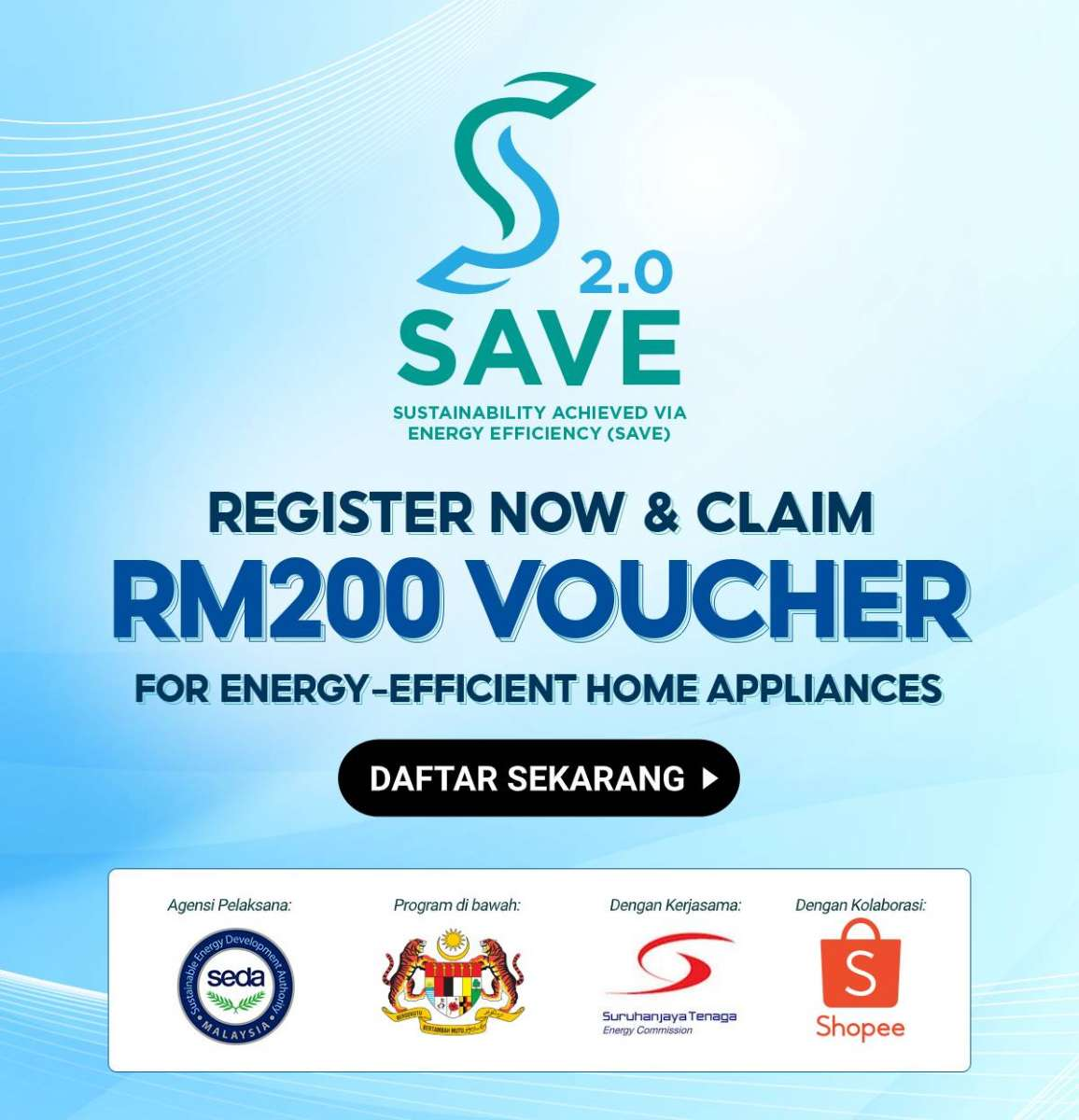 Get RM 200 FREE Shopee Voucher to Purchase Air Cond / Refrigerator - The  Ideal Mobile