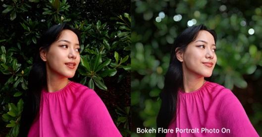 OPPO Reno6 Pro Bokeh Flare Portrait
